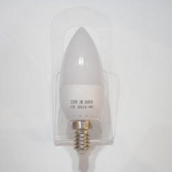 Ampoule Flamme E14 3W